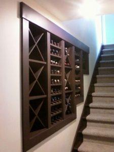 Northgate WA Custom Built-In Wine Rack Contractor
