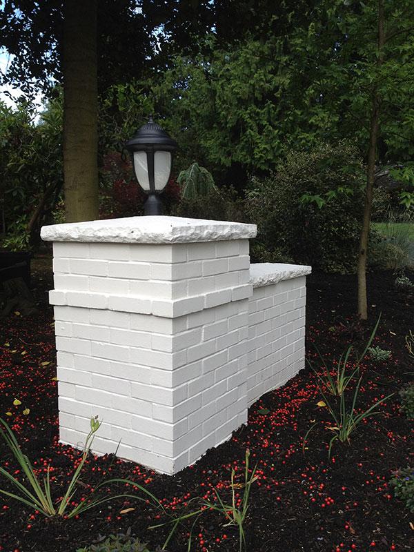 Addition Custom Light Post Remodel Paint Brick Edmonds WA