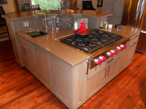 Edmonds WA Kitchen Addition Remodel Island Design Build Contractor