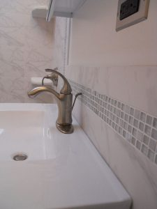 Bathroom Gallery Brushed Nickel Faucet Sink
