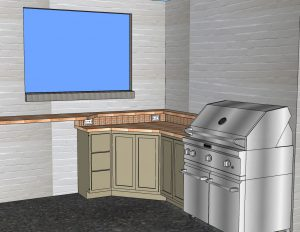 Pre-Construction Service Outdoor Kitchen Design Mill Creek WA
