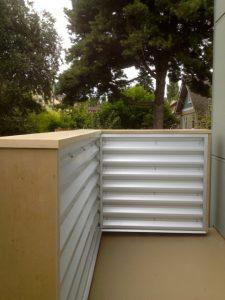 Remodel Addition Commercial Corrugated Railing Deck Ballard WA