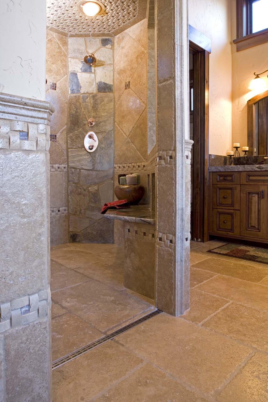 Linear Tile Drain Universal Design