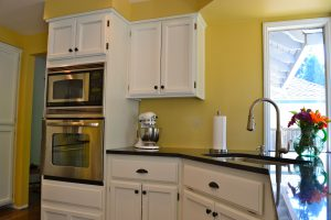 Mill Creek Kitchen Absolute Black Granite Countertops