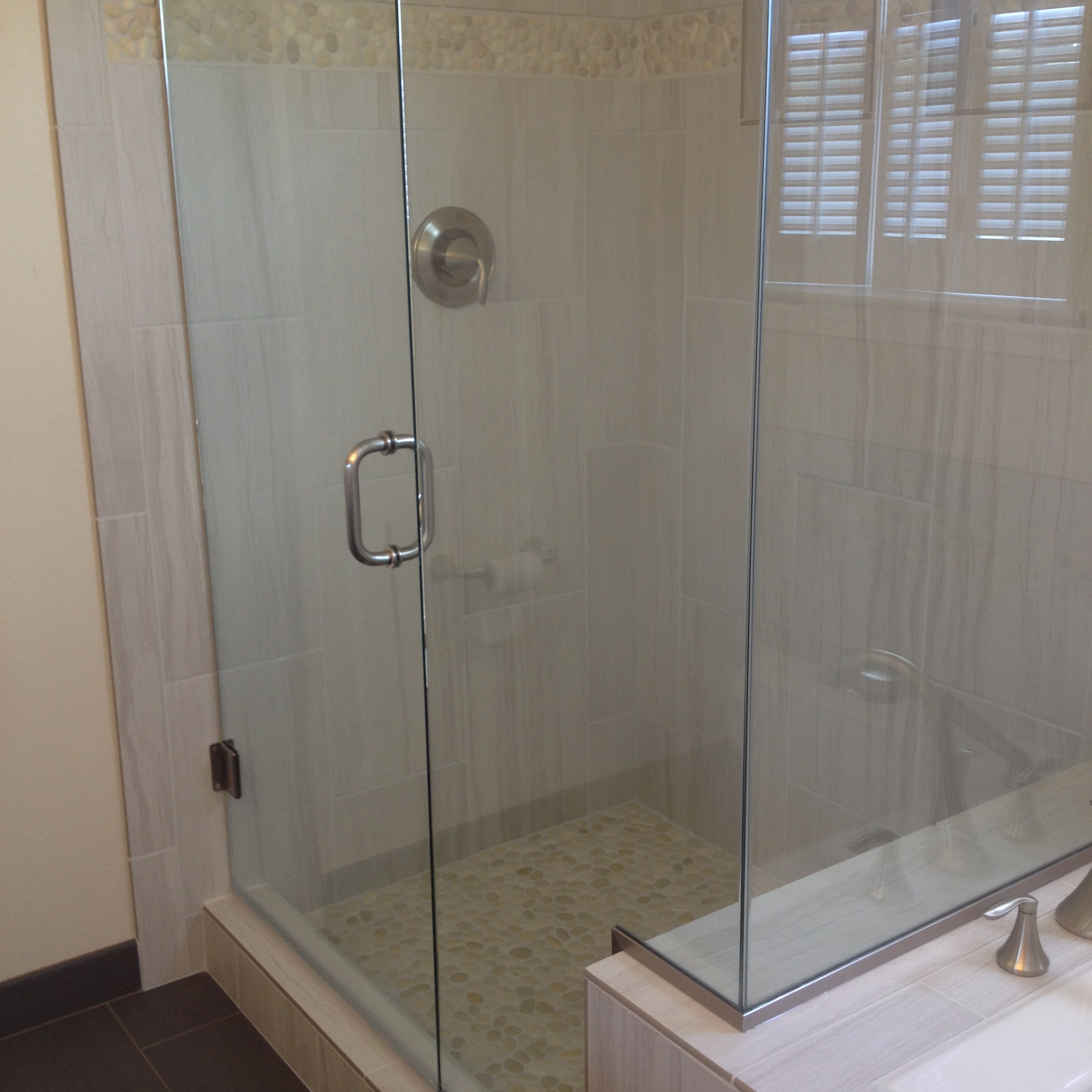 Frameless Shower Door Surround Home Run Solutions