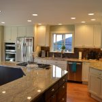 Painted Canyon Creek Brentwood Cabinets Kitchen Remodel