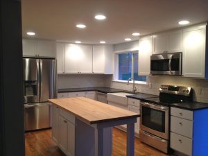 Completed Kitchen Remodel Maryville WA Gallery