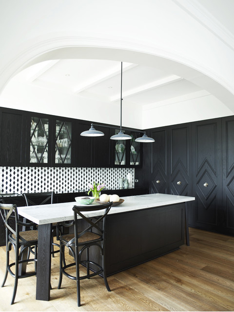 blog kitchen design trends 2015 black cabinets remodel contractor