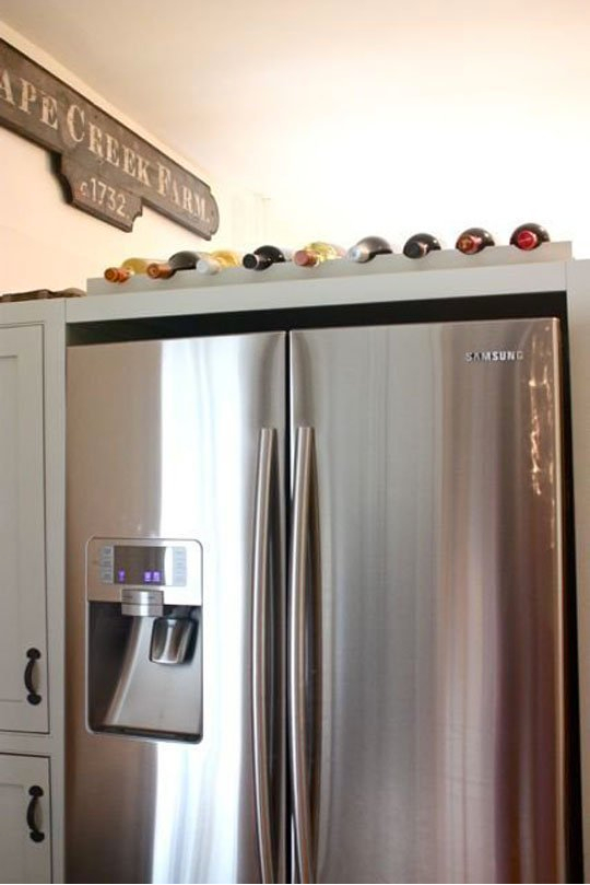 Blog Kitchen Wine Rack Fridge Remodel Mukilteo WA