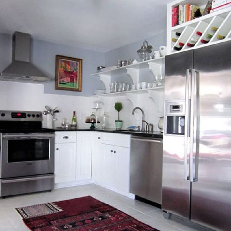 Blog Kitchen Open Shelf Wine Refrigerator Seattle WA