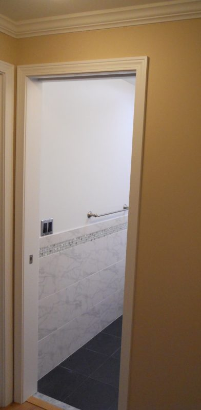 Blog Bath Pocket Door Casing Contractor Remodel