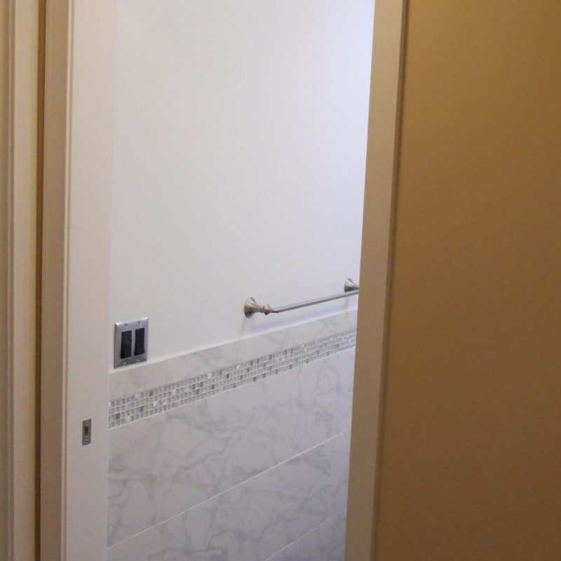 Blog Bath Pocket Door Casing Contractor Remodel