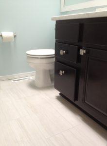 Mill Creek WA Bath Vanity Aristokraft Cabinet Remodel Carpentry