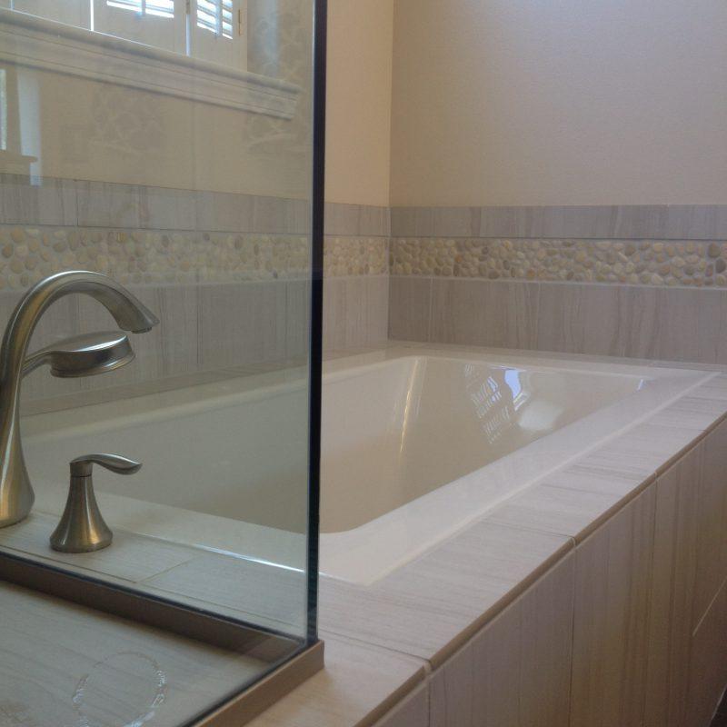 Mill Creek WA Master Bath Remodel Tub Tile Contractor