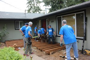 Rampathon 2015 Deck Framing Construction Remodel Design Build Everett WA