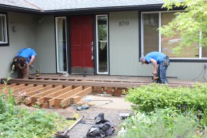 Rampathon 2015 Deck Installation Professional Service Contractor Everett WA