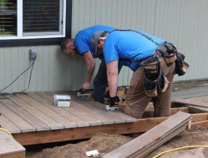Rampathon 2015 Composite Deck Ramp Construction Professional Remodel Lynnwood WA