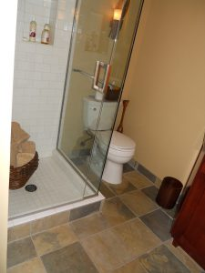 Edmonds Bath Renovation Floor Tile Slate Contractor Gallery