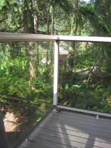 Everett Aluminum Deck Railing