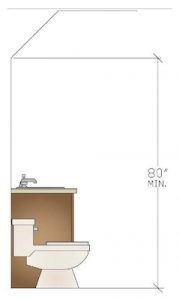 Vanity Design Bath Guideline Illustration Lynnwood WA