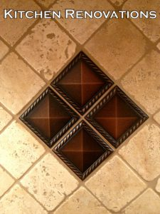 Kitchen Gallery Deco Tile On Point Mill Creek WA