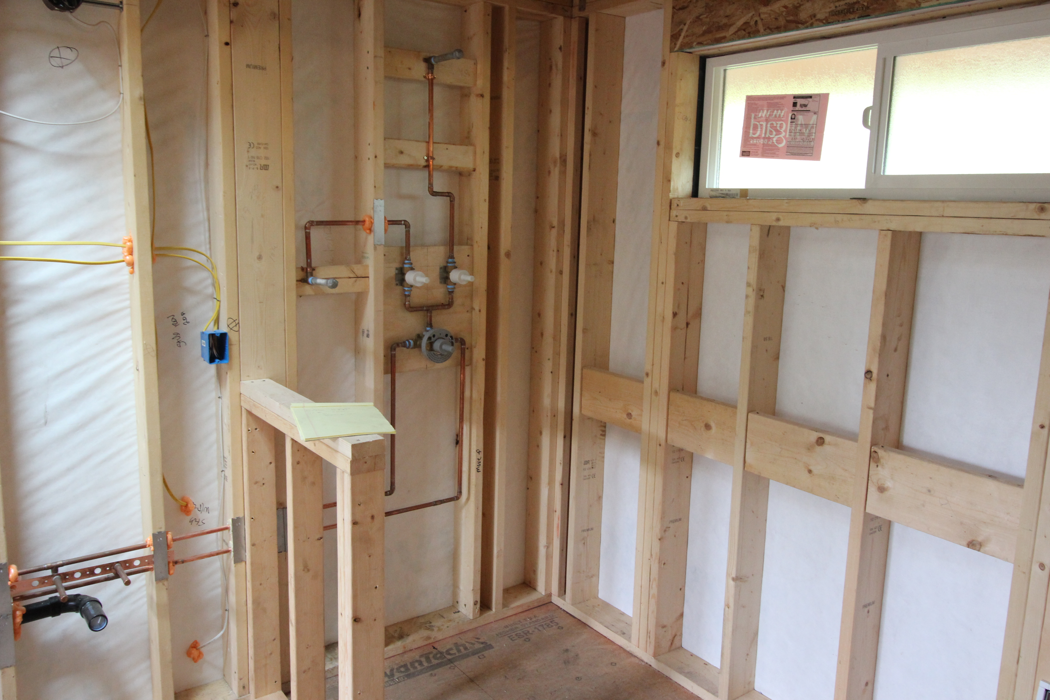 Plumbing rough in home run solutions for New construction plumbing rough in