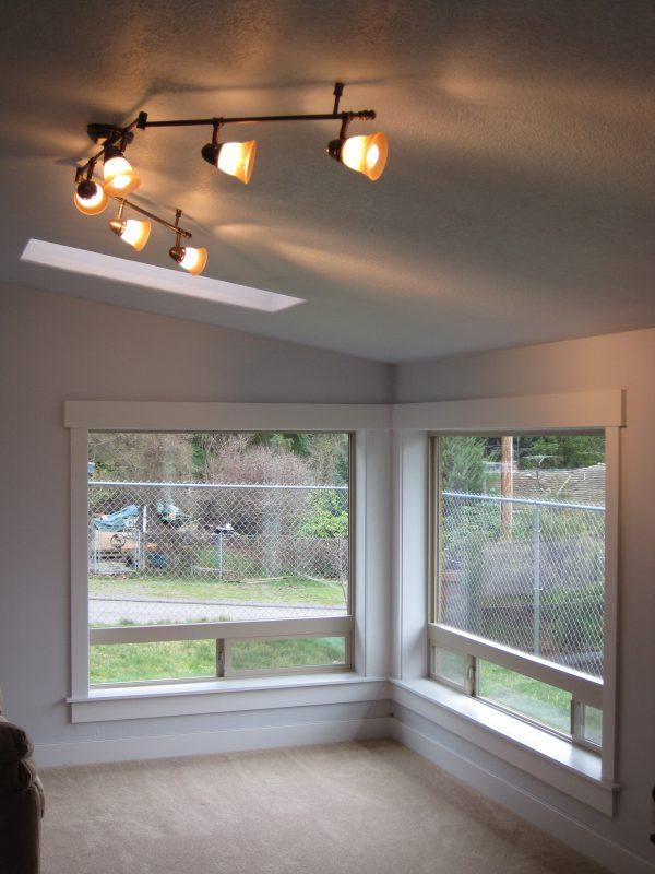 Everett WA Remodel Shaker Style Window Casing