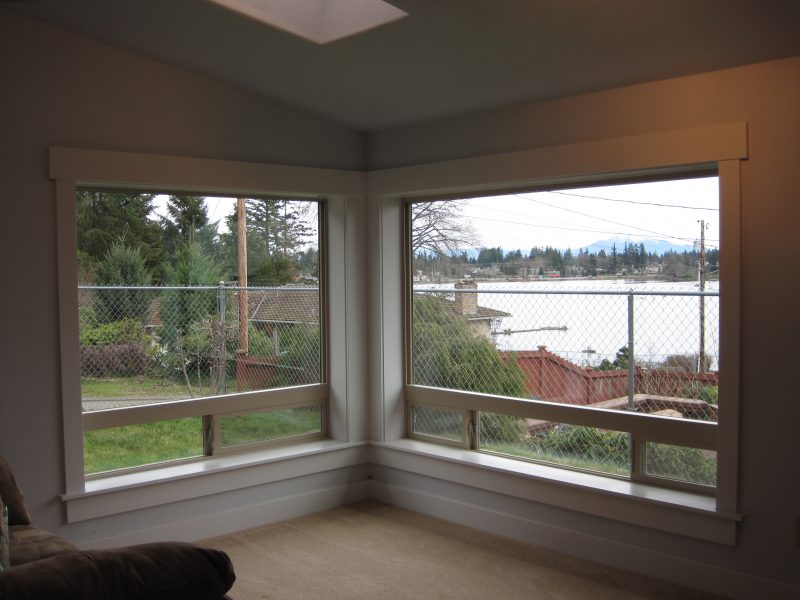 Everett WA Kitchen Remodel Window Silver Lake Construction