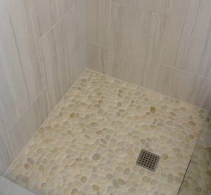 Blog Mill Creek WA Bath Island Pebbles Shower Pan Tile