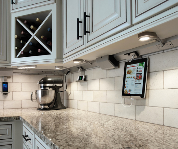 legrand under cabinet lighting 3 kitchen outlet features homeowners home run solutions 22616