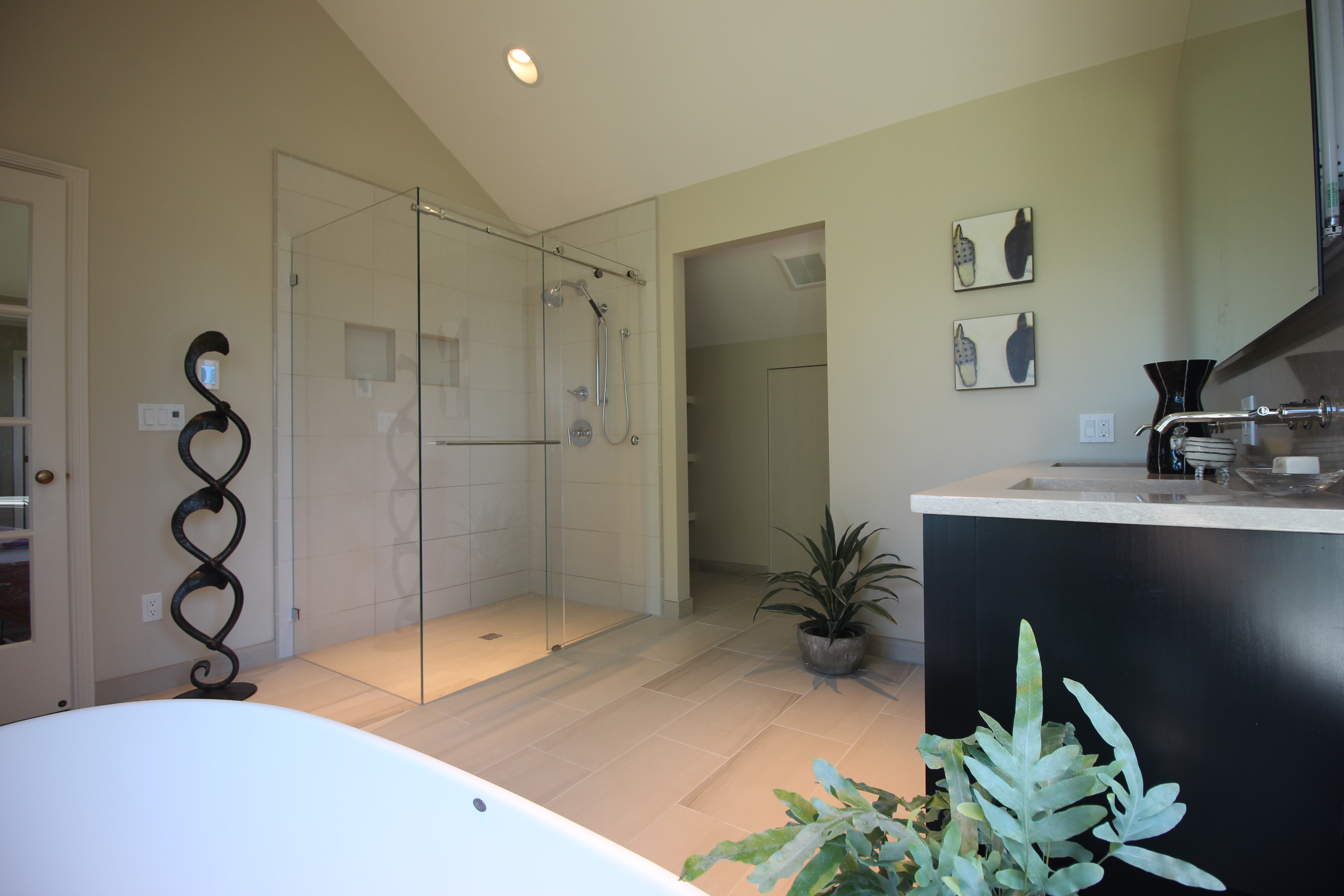 Vaulted ceilings home run solutions Local bathroom remodeling