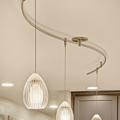 Tech Lighting Ava Pendant Light White