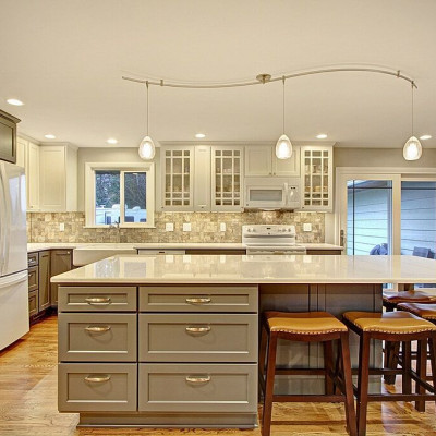 Canyon Creek Cabinets Peppercorn Everett Remodel