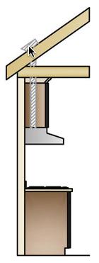 kitchen design overhead vent cooktop blog