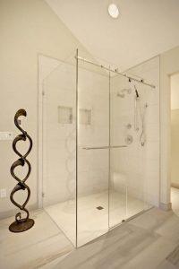 Bathroom Custom Shower Design Concept Mockup