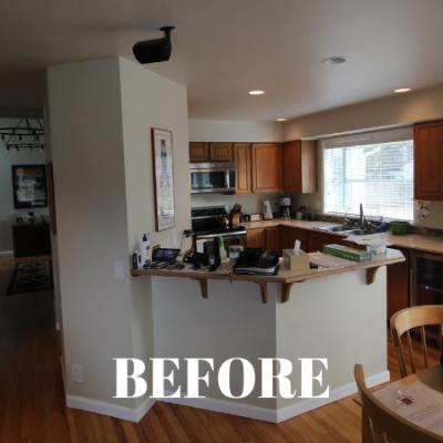 Portfolio Renovation Mill Creek Kitchen Before